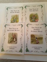 4 Beatrix Potter Books in Glendale Heights, Illinois