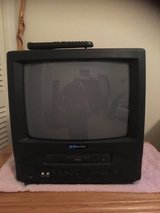 Small TV with VCR Player in Macon, Georgia