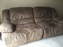 2 seat reclining couch in Bartlett, Illinois