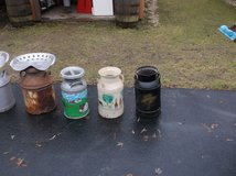 SMALL MILK CANS in Lockport, Illinois