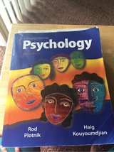 9th edition intro to psych in Vacaville, California
