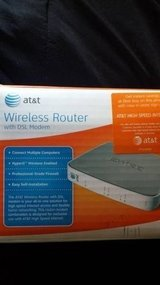 Att wireless router in New Lenox, Illinois