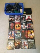 PlayStation 2-  console, 3 controllers, memory card, and 8 games in Elgin, Illinois