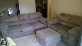 Couch/Loveseat/Ottoman in Macon, Georgia