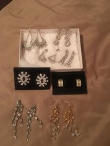 Rhinestone and crystal earrings in Fort Campbell, Kentucky