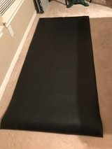 Exercise Equipment Mat (thick) in Kingwood, Texas