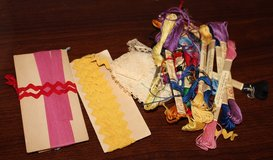 Lot of old Rick Rack and Embroidery Thread in Fort Campbell, Kentucky