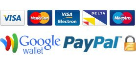 PayPal & Google Wallet Accepted in 29 Palms, California