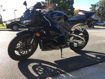 2011 CBR600RR Honda motorcycle in Camp Pendleton, California