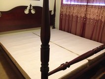 Cherry Wood King Bed in Temecula, California