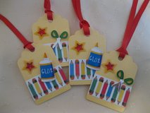 School Gift Tags - Party Tags Handmade 14 Available in Ramstein, Germany