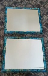 "(2) 18"" x 22-1/2"" Floral Framed Mirrors in Algonquin, Illinois"