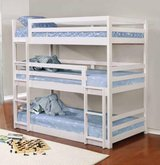 TWIN SIZE TRIPLE BUNK BED FREE DELIVERY in Huntington Beach, California