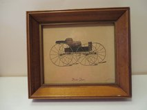 BEAUTIFUL! Set of 3 Solid Wood Framed Antique Cars  LAST OFFER! in Naperville, Illinois