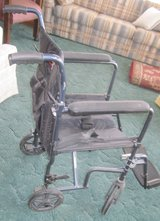 Transport wheel chair - light weight in Conroe, Texas