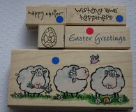 Easter Rubber Stamps Code EA1 in Lakenheath, UK