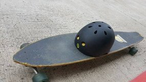 Sector 9 Longboard and Helmet in Houston, Texas