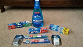 Crest/Oral B Lot in Yucca Valley, California