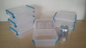 NEW Set of 6 Sterilite 1.2 qt Storage Containers in Glendale Heights, Illinois
