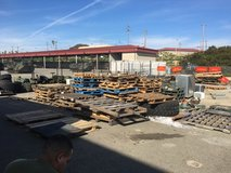 pallets wood in Camp Pendleton, California