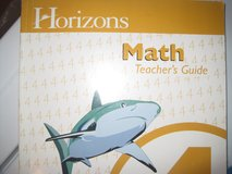 Horizon's Math 4 Teacher's Guide in Ramstein, Germany