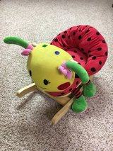 Kids rocking chair . Lady bug in Joliet, Illinois