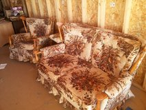 Antique loveseat and matching chair in Duncan, Oklahoma