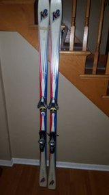 K2 Four 4 188 cm skis in Glendale Heights, Illinois