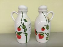 Strawberry Design Oil and Vineger Bottles in Perry, Georgia