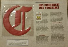 1869 Cincinnati Red Stockings patch in Warner Robins, Georgia