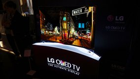 "LG OLED 55"" 4K Curved Screen Display TV, HDR in Ramstein, Germany"