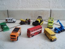 9 buses and other vehicles in Stuttgart, GE