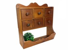 Wooden Spice Cabinet with pull out drawers in Lawton, Oklahoma
