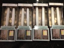 4 New Boxes of LED Taper Candles (2 per box) in Glendale Heights, Illinois