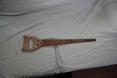 Vintage Double sided hand saw in Fort Leonard Wood, Missouri