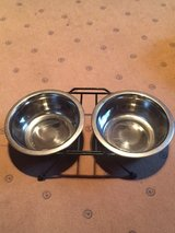 Dog or Cat Food & Water Bowls Raised dog bowl feeder in Ramstein, Germany