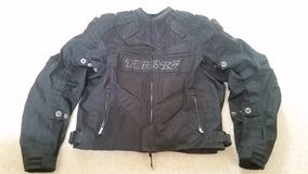 Teknic riding jacket in Fort Bliss, Texas