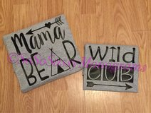 Mama Bear/Wild Cub Combo Shirts in Macon, Georgia