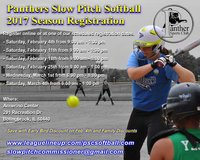 Panthers Slow Pitch Softball Registration in Naperville, Illinois