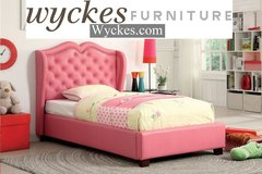 Pink Youth Platform Bed in San Diego, California