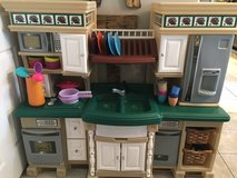 Play kitchen with accessories in Joliet, Illinois