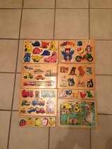 8 wooden puzzles (Sale Pending) in Ramstein, Germany