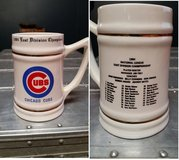 1984 - Vintage - Chicago Cubs - National League East Champions - Beer in Morris, Illinois