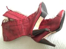 MaxStudio ladies laced boots with zipper in New Lenox, Illinois