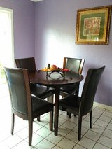 Dining table with 4 chairs in Camp Pendleton, California