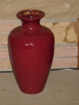 "16"" red pottery vase in Bolingbrook, Illinois"