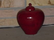 "red ginger jar 8""x8"" in Glendale Heights, Illinois"