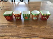 "5 Small Planter Pots 3"" in Kingwood, Texas"