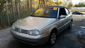 2001 VOLKSWAGEN CABRIO CONVERTIBLE in Gainesville, Georgia