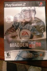 PS2 madden 08 in Fort Campbell, Kentucky